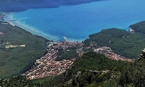 Sakar Seyir Terası Gökova Körfezi Ege Denizi manzarası