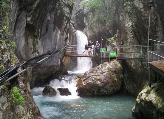Sapadere Kanyonu Cüceler Mağarası Görülmesi gereken yerler Doğa harikası