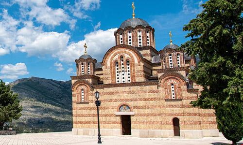 Hercegovačka Gračanica Manastırı Bosna Hersek turistik yerler