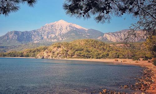 Akdeniz Bölgesi Antalya Kemer Denize girilecek yerler