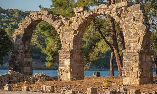 Akdeniz Bölgesi tarihi ve doğal güzellikleri Su kemeri