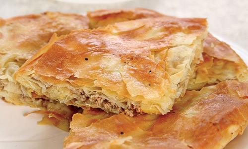 Balkanlar'da ne yenir Arnavut böreği