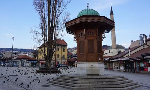 Bosna Hersek başkenti Saraybosna gezilecek yerler Başçarşı Sebil nerede