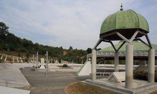 Bosna Hersek gezilecek yerler Srebrenica Soykırım Anıtı