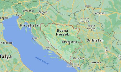 Bosna Hersek nerede harita nasıl gidilir gezilecek yerler şehirleri gezi rehberi