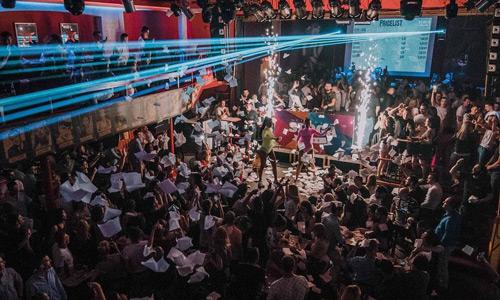 Cinemas Sloga Bosna Hersek başkenti Saraybosna gece hayatı