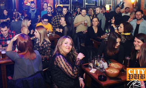 City Pub Saraybosna geceleri barlar