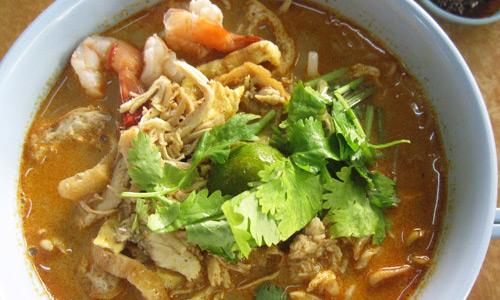 Curry laksa Yurtdışı yeme içme