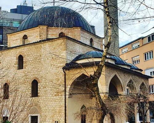 Ferhadiye Camii Osmanlı Devleti'nin tarihi mimari eserleri