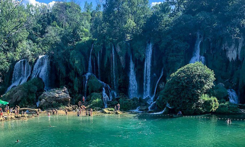 Kravica Şelalesi Vizesiz Balkan ülkeleri tatili