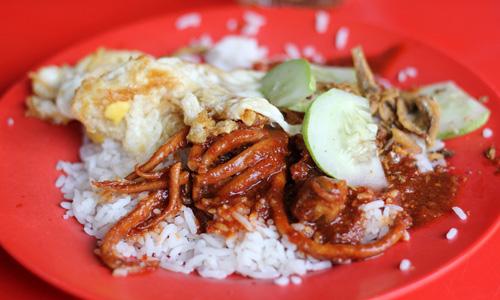 Malezya yemekleri Nasi Lemak