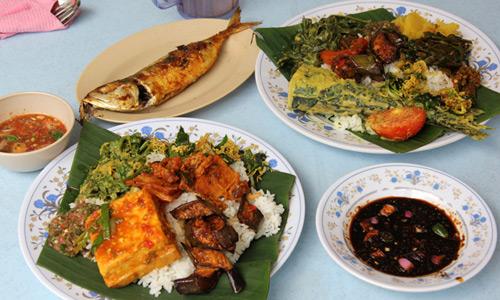 Nasi campur Asya turu gastronomi