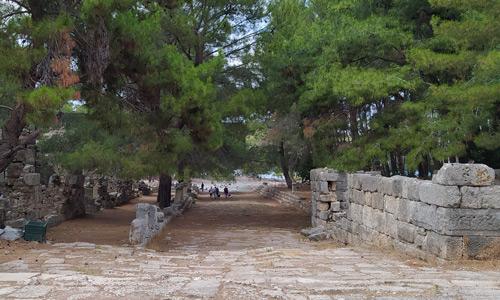 Phaselis Antik Kenti Plajı nerede Antalya