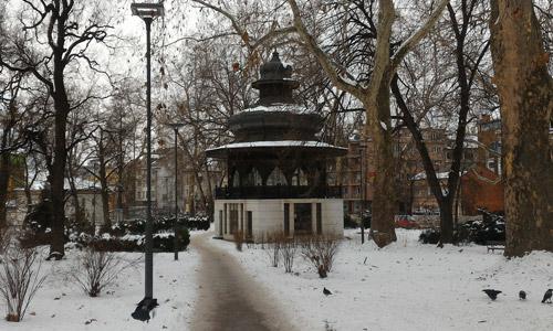 Saraybosna gezilecek yerler At Meydanı Parkı gezisi