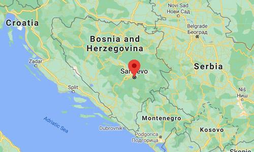 Saraybosna gezilecek yerler haritası nerede nasıl gidilir