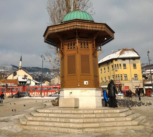 Saraybosna gezilecek yerler Sebil