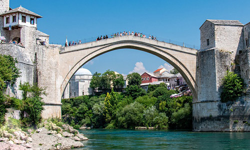 Tarihi Mostar Köprüsü Bosna Hersek Gezilecek Yerler