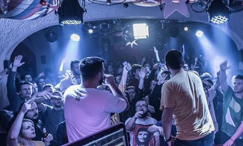 Underground Club Saraybosna geceleri