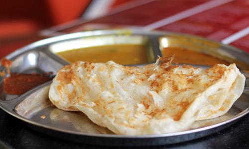 Uzakdogu Asya yemek kültürü Roti Canai