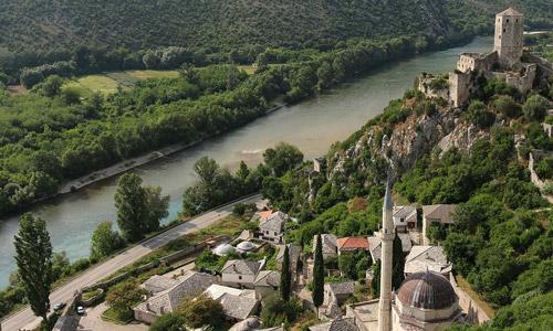 Vizesiz Balkan ülkeleri Poçitel