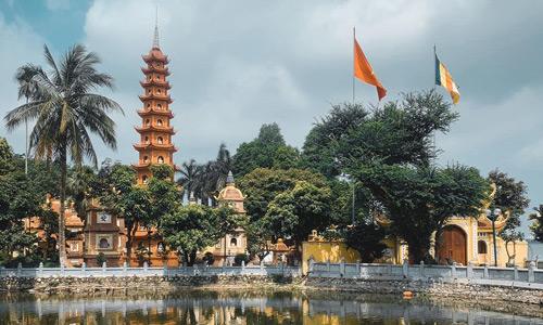Chua Tran Quac Vietnam başkenti gezi rehberi Hanoi gezilecek yerler