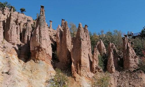 Djavolja Varos Balkanlar'daki Kapadokya