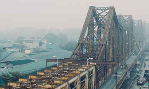 Long Bien Bridge Vietnam Asya gezisi