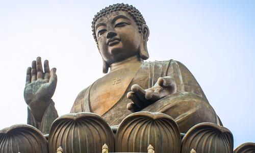 Tian Tan Buddha The Big Buddha Lantau Island