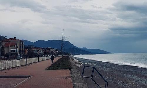 Cide Sahil Halk Plajı Karadeniz gezisi