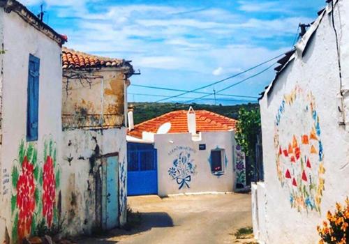 Ege'nin en güzel köyleri Germiyan Köyü