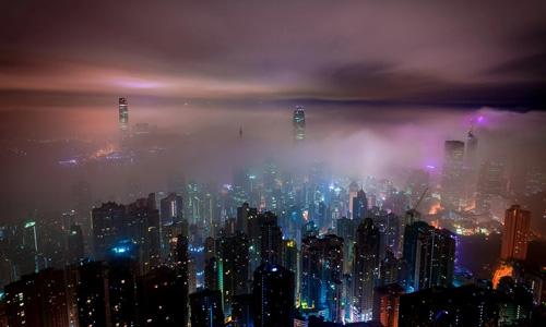 Hong Kong gezilecek yerler turu Gezi rehberi Şehir manzarası