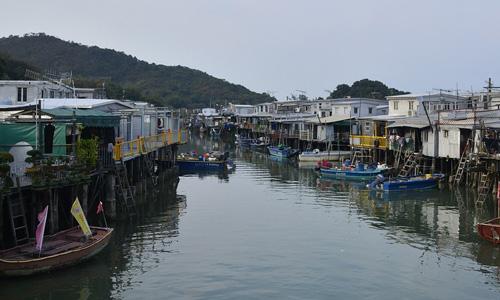 Lantau Island Tai O Güneydoğu Asya gezisi